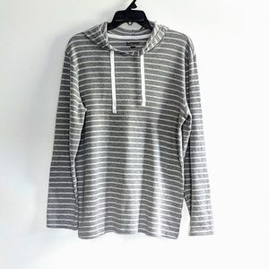 NWOT hooded waffle knit top